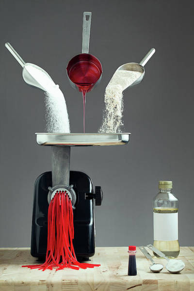 Pouring Photograph - Contains 0% Real Fruit!! by Timothy Tichy