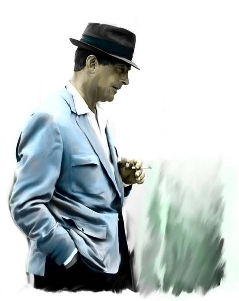 Painting - Contemplation IIi Dean Martin  by Iconic Images Art Gallery David Pucciarelli
