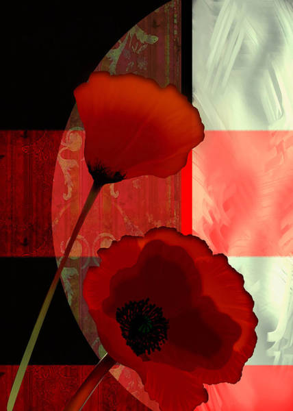 Wall Art - Painting - Contemporary Poppies A Vision In Red by Regina Femrite