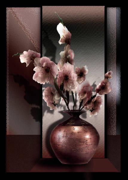 Wall Art - Painting - Contemporary Spring Blossoms by Regina Femrite