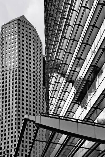 Photograph - Continental Center I Houston Tx by Christine Till