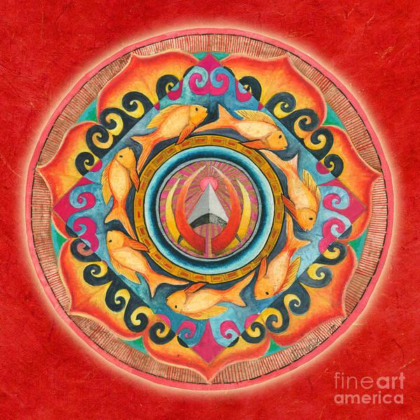 Painting - Continuing Mandala by Jo Thomas Blaine