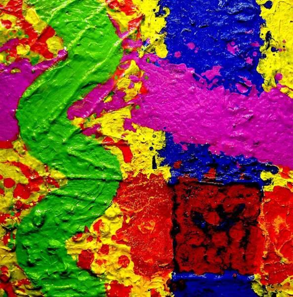 Free Jazz Painting - Continuum by John  Nolan