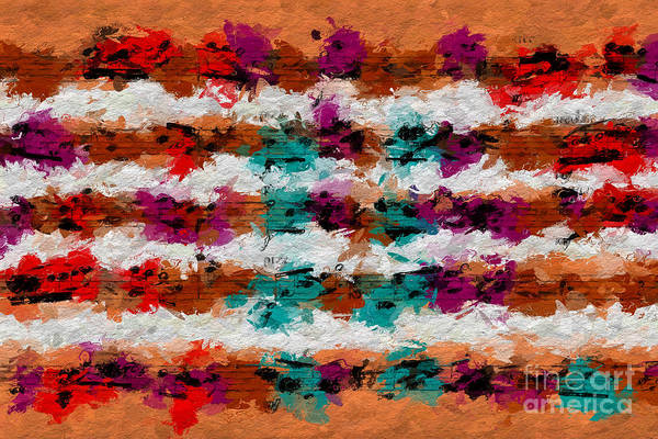 Digital Art - Contrapuntal Fiesta by Lon Chaffin
