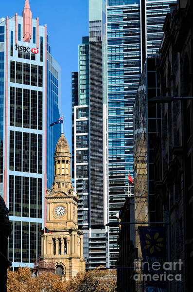 Photograph - Contrasting Architectures - Old And Modern by David Hill