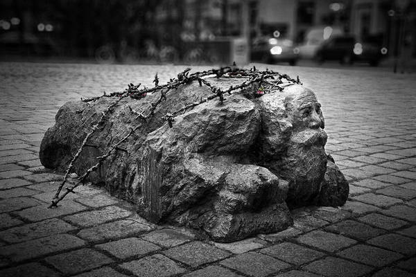 Holocaust Photograph - Controversial Memorial by Joan Carroll