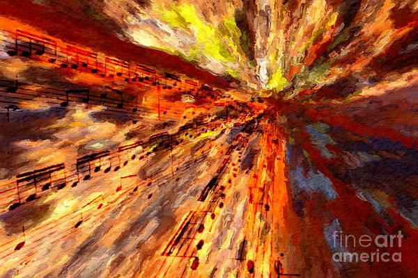 Digital Art - Convergence by Lon Chaffin