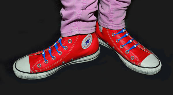 Photograph - Converse All Star by Dragan Kudjerski