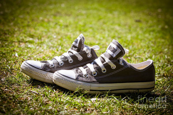 Wall Art - Photograph - Converse Pumps by Jane Rix