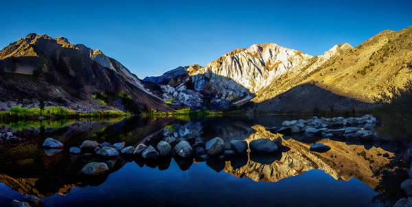 Eastern Sierra Photograph - Convict Lake Fall Sunrise by Scott McGuire