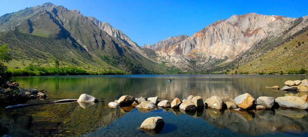 Photograph - Convict Lake Panorama by Lynn Bauer