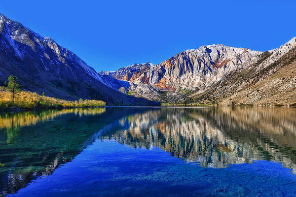 Photograph - Convict Lake Reflections by Beth Sargent