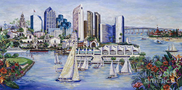 Painting - Convis Convention Center by Glenn McNary