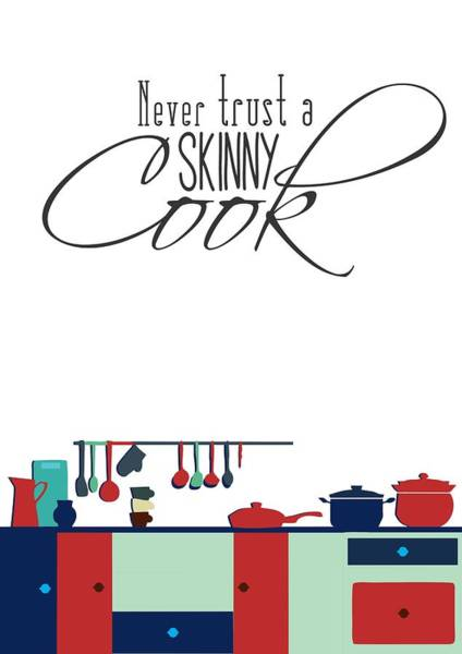 Wall Art - Digital Art - Cook Inspirational Quotes Typography Quotes Poster by Lab No 4 - The Quotography Department