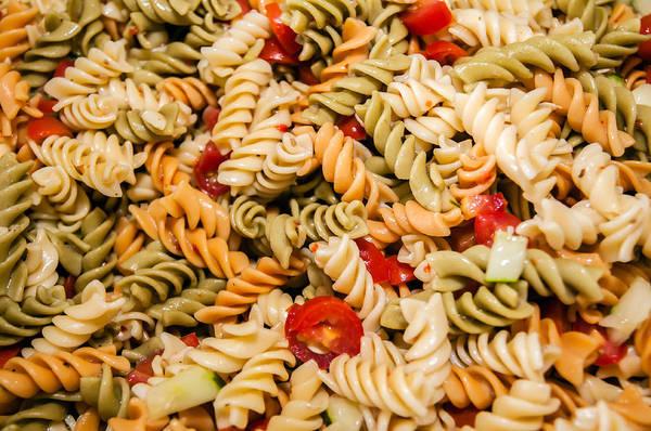 Photograph - Cooked Pasta Salad by Alex Grichenko