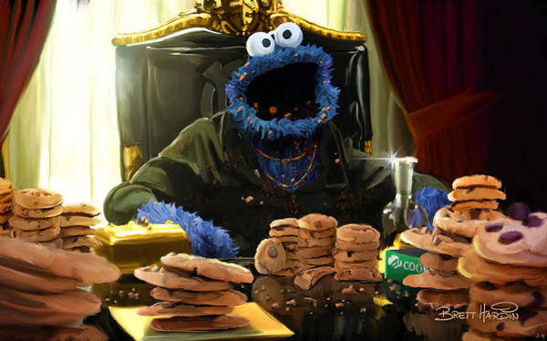 Painting - Cookie Montana by Brett Hardin