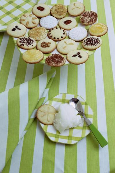 Sweet Photograph - Cookies And Icing by Susan Wood