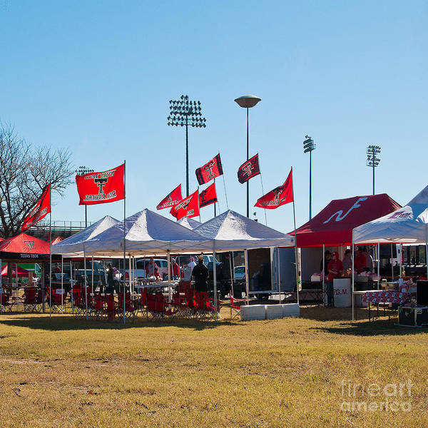 Photograph - Cookout At Tailgating Event by Mae Wertz