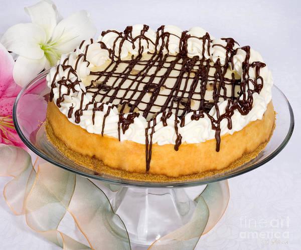 Cheese Cake Wall Art - Photograph - Cookydaugh Cheesecake by Iris Richardson