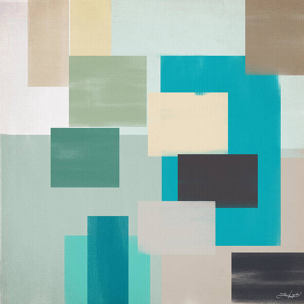 Neutral Wall Art - Painting - Cool And Calm by Lourry Legarde