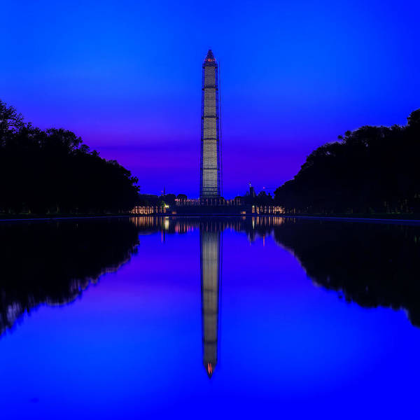 Photograph - Cool Blue Morning by Metro DC Photography