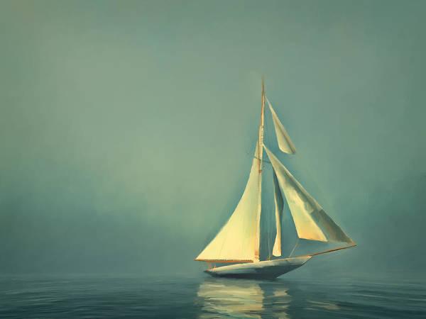 Sea Life Digital Art - Cool Blue Sea by Lonnie Christopher