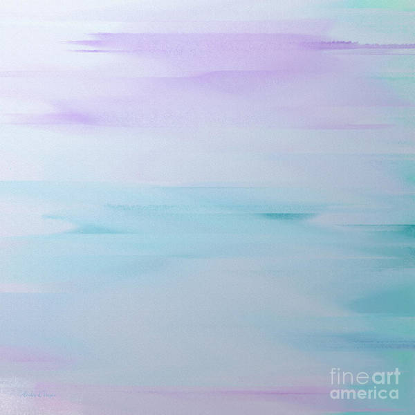 Digital Art - Cool Breeze by Andee Design