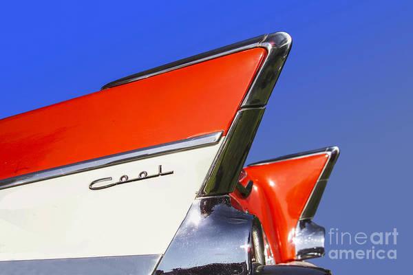 Fins Photograph - Cool Car by Diane Diederich