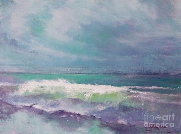 Painting - Cool Change by Kathy  Karas