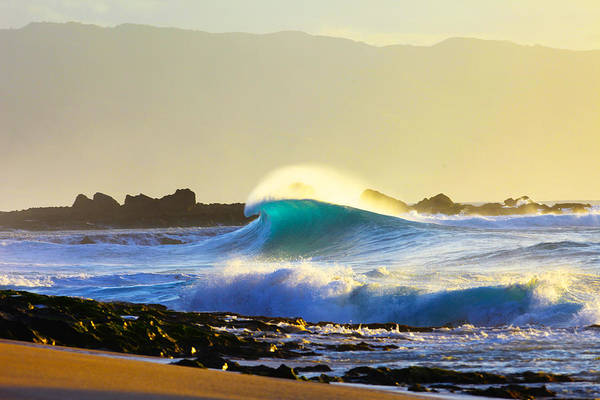 Big Waves Wall Art - Photograph - Cool Curl by Sean Davey