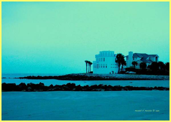 Photograph - Cool Evening At Isle Of Palms by Kendall Kessler