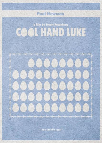 Digital Art - Cool Hand Luke by Inspirowl Design