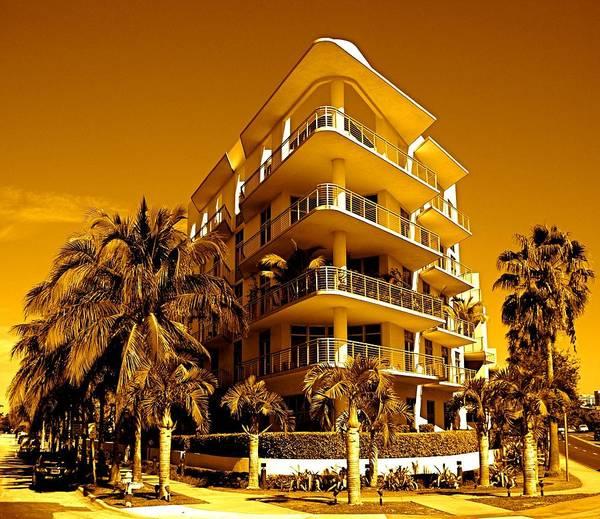 Photograph - Cool Iron Building In Miami by Monique Wegmueller