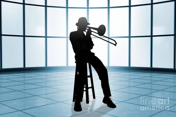 Cool Jazz Digital Art - Cool Jazz 1 by Peter Awax