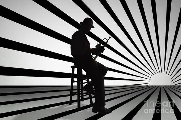 Cool Jazz Digital Art - Cool Jazz 2 by Peter Awax