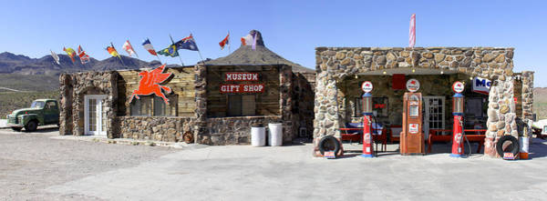 Route 66 Photograph - Cool Springs Service Station by Mike McGlothlen