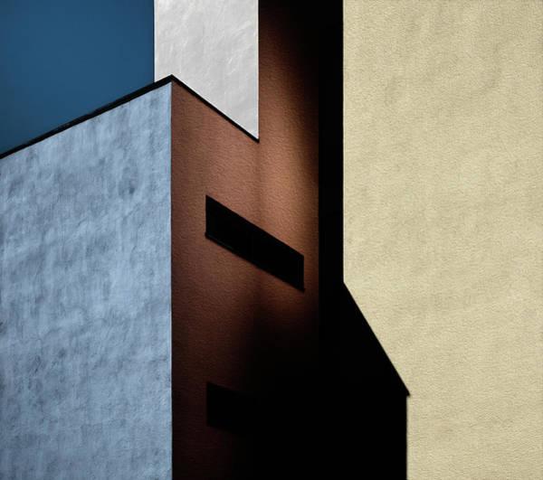 Corner Photograph - Cool-warm Mix. by Harry Verschelden