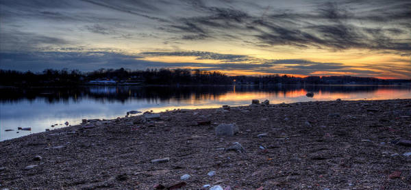 Photograph - Cool Winter Sunset by David Dufresne