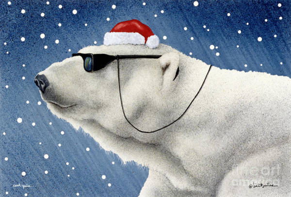 Holidays Painting - Cool Yule... by Will Bullas