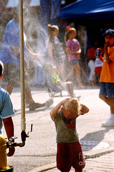 Photograph - Cooling Off - Color by Frank J Casella