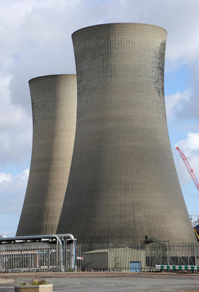 Cooling Tower Photograph - Cooling Towers by Public Health England