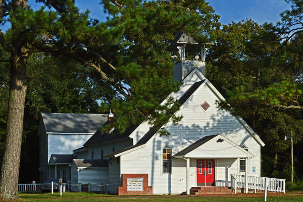 Photograph - Coolspring Um Church Of Girdletree by Bill Swartwout Photography
