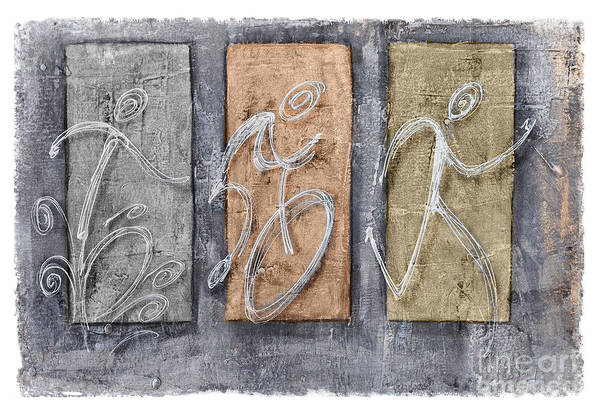 Action Sports Painting - Cooper Triathlon Sequence by Alejandro Maldonado