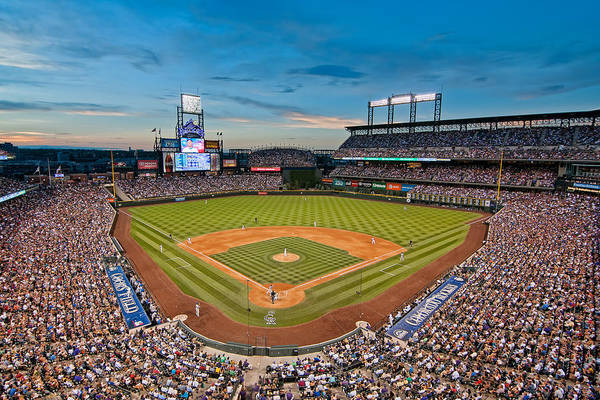 Photograph - Coors Field by Mark Whitt