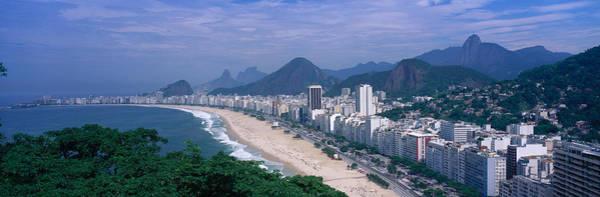 Leisurely Photograph - Copacabana Beach, Rio De Janeiro, Brazil by Panoramic Images