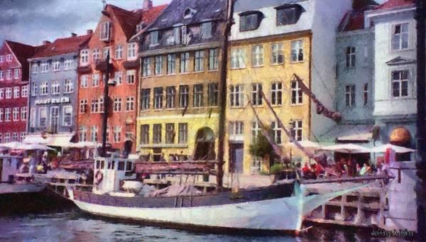 Painting - Copenhagen by Jeffrey Kolker