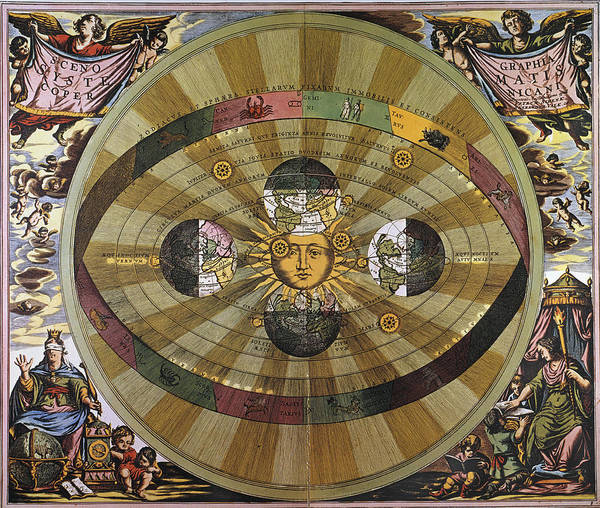 Photograph - Copernican Universe by Granger