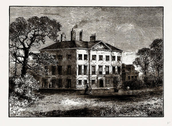 Epping Wall Art - Drawing - Copped Hall, Near Epping, Uk by Litz Collection