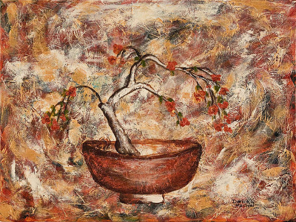 Painting - Copper Bowl by Darice Machel McGuire
