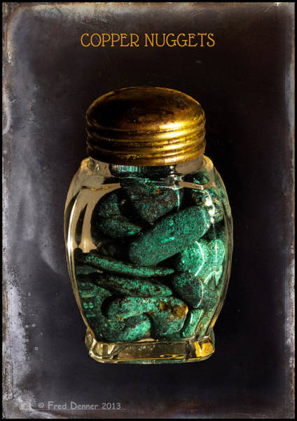 Photograph - Copper Nuggets by Fred Denner
